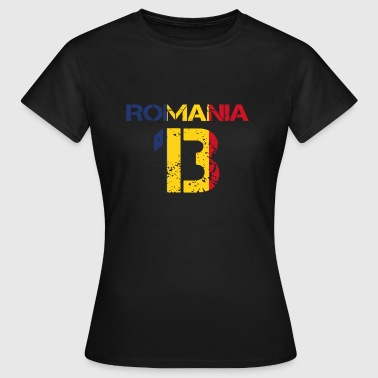 13 Football club team party em wm ROMANIA 13 - Women's T-Shirt