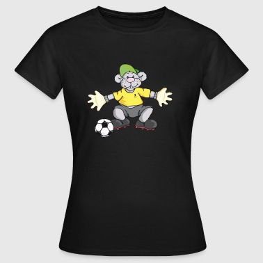 Voetbal MoMouse - Vrouwen T-shirt