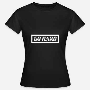 Hard Enduro GO HARD MOTOCROSS Enduro - Frauen T-Shirt