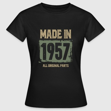 Made 1957 Made In 1957 - Women's T-Shirt