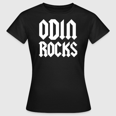 Rock God odin rocks - Women's T-Shirt