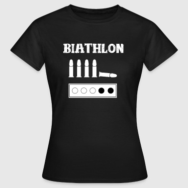 Biathlon Wintersport Biathlon Wintersport - Frauen T-Shirt