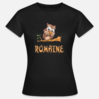 Romain Owl Romaine - T-skjorte for kvinner