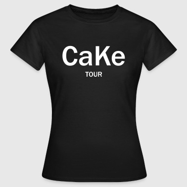 Cake tour - Frauen T-Shirt
