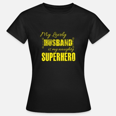 Superhero Couples Superhero husband love wedding gift - Women's T-Shirt