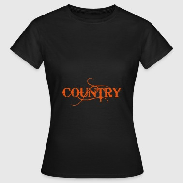 Country - Camiseta mujer