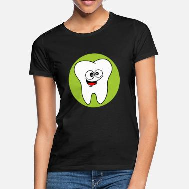 Orthodontics Dental office logo tooth - Women's T-Shirt