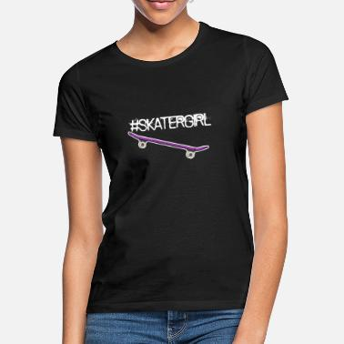 Skate Skater Girl Girl Power Woman Contest Gift - Women's T-Shirt