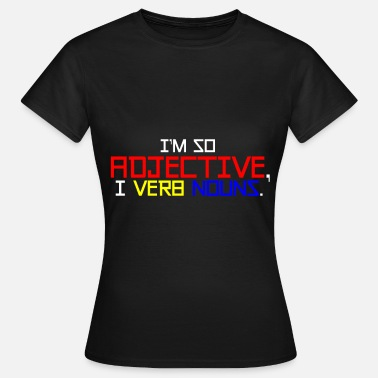 Part Of Speech English teacher parts of speech - Women's T-Shirt