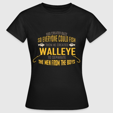 Fly Fishing Tshirt Walleye Fishing Shirt - Women's T-Shirt