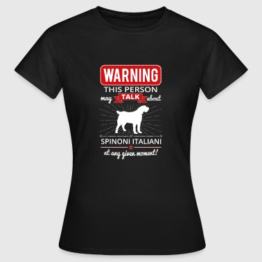 Italian Shaggy Pointer Gift - Women's T-Shirt
