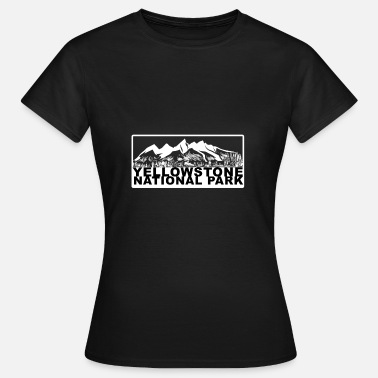 Parks And Recreation Yellowstone National Park Wilderness Recreation - Women's T-Shirt