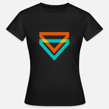 Triangle Illusion Triangle Triangles sont une sorte d'illusion - T-shirt Femme