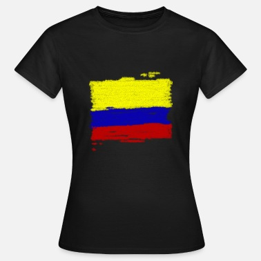 Colombia Colombia flag - Women's T-Shirt