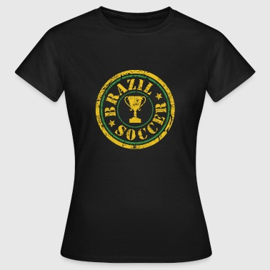 Brazil Football Champion Cup Champion Soccer - Women's T-Shirt