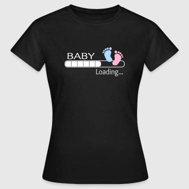 Baby loading ... baby shirt gave gave ide - Dame-T-shirt