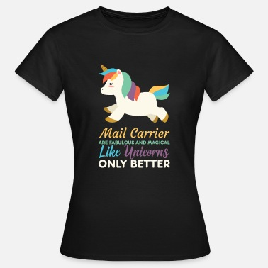 Matasellos POSTBOTE POSTERS PACKAGE SERVICE REGALO UNICORNIO - Camiseta mujer