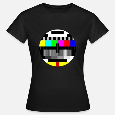 Tv mire couleur - color test card - T-shirt Femme