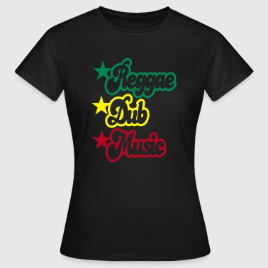 reggae dub music - Women's T-Shirt