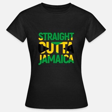 Jamaica Straight Outta Jamaica - Women's T-Shirt