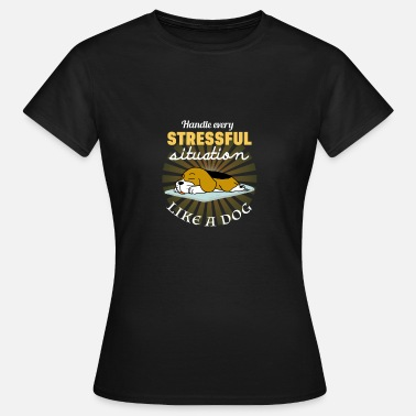 Situation SITUATION STRESSANTE - T-shirt Femme