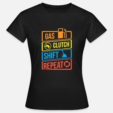 Expediteur Truck Truck Clutch Turn Loading Refuelling Road - Vrouwen T-shirt