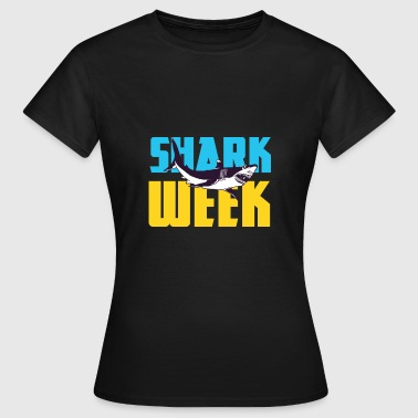 Animal Print - Shark Week - Naisten t-paita