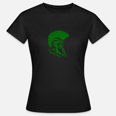 Green Team Spartans Green - Camiseta mujer