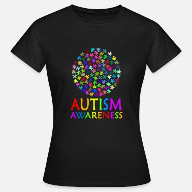 Asperger Behinderung Autismus Awareness - Frauen T-Shirt