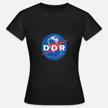 Ddr Moped DDR moped Swallow East gåva Ossi rymdresa - T-shirt dam