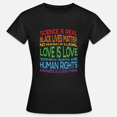 Political Issues Political issues - Human rights - Democracy - Women's T-Shirt