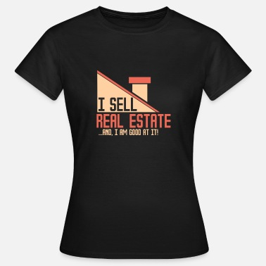 Immobilier IMMOBILIER - Agent immobilier - T-shirt Femme