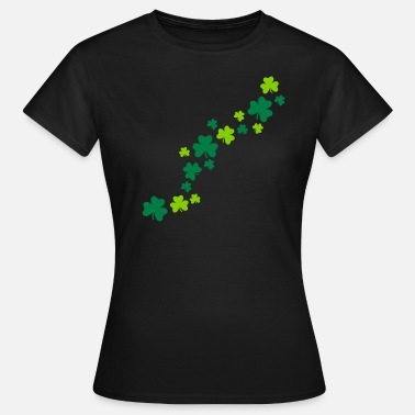 Kleeblätter Shamrocks - Frauen T-Shirt