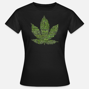 Northern Lights Cannabis / Marihuana Strains (light green) - Frauen T-Shirt