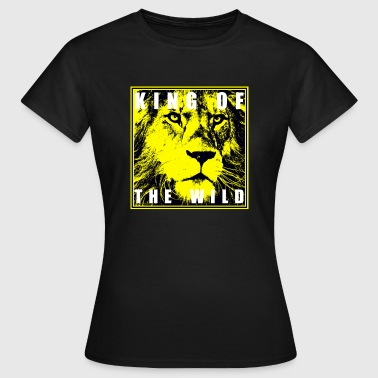 Lion King of the wild Lion - Women's T-Shirt