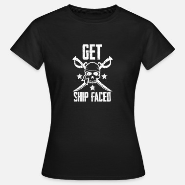 Piracy Pirate, piracy, pirate flag - Women's T-Shirt