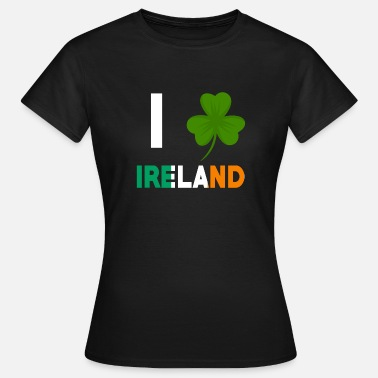Irish Festivals Irlanda Irish St. Patricksday - Maglietta da donna