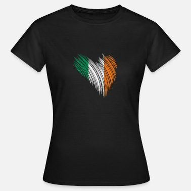 Flag Northern Ireland Irish flag gift idea - Women's T-Shirt