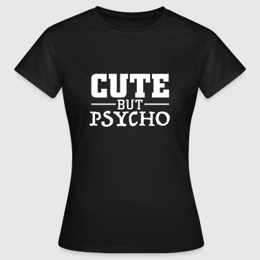 Cute But Psycho cute but psycho Manga larga - Camiseta mujer