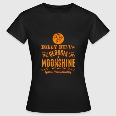 Moonshine Whisky, distressed - Camiseta mujer
