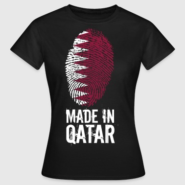 Made In Qatar / Qatar / قطر - T-shirt Femme