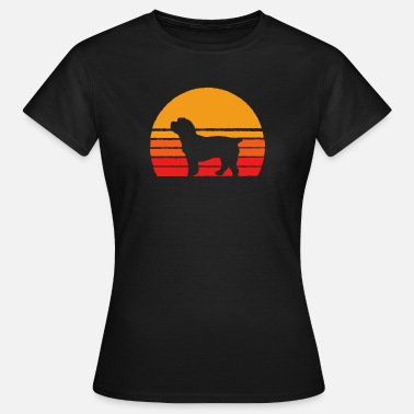 Cockapoo Lover Cockapoos Sunset - Retro Dog Tee Shirts - Women's T-Shirt