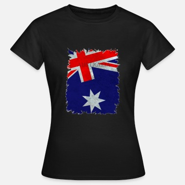 Nationalfarben Nationalfarben Australien - Frauen T-Shirt