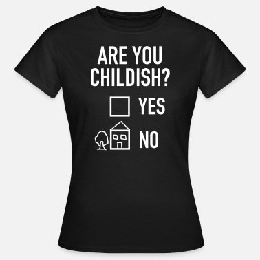 Childish Gambino Geek | Are You Childish? - Koszulka damska