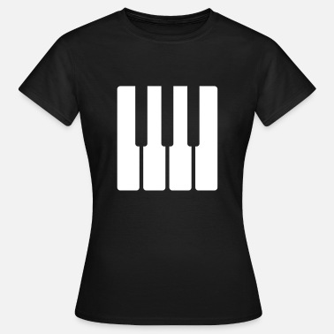 Piano Piano Long Sleeve Shirts - Women's T-Shirt