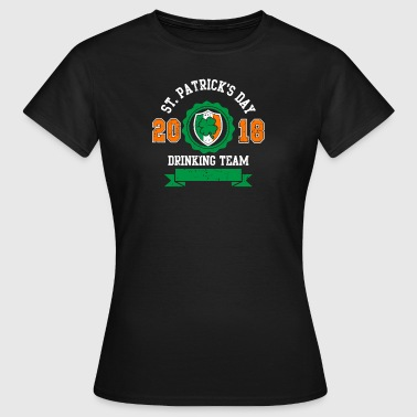 St. Patricks day drinking Team 2018 - Bier -Irisch - Vrouwen T-shirt