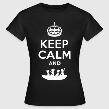 Boot Keep calm - boot drive family - Women's T-Shirt