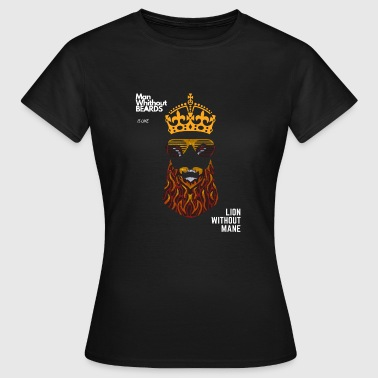 King BEAR white word - Women's T-Shirt