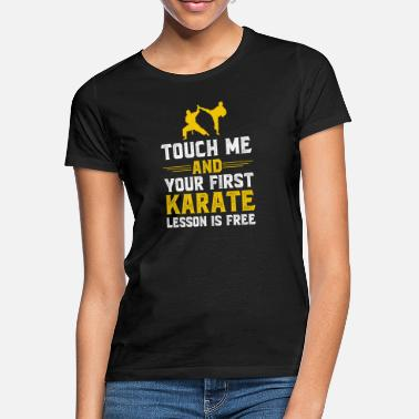 Gift for karate fighter, poison karate fighter - Women's T-Shirt