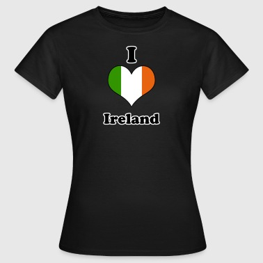 I love Ireland - Women's T-Shirt
